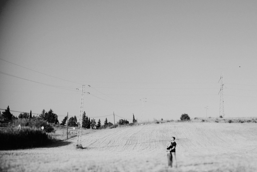 Preboda en el campo Málaga