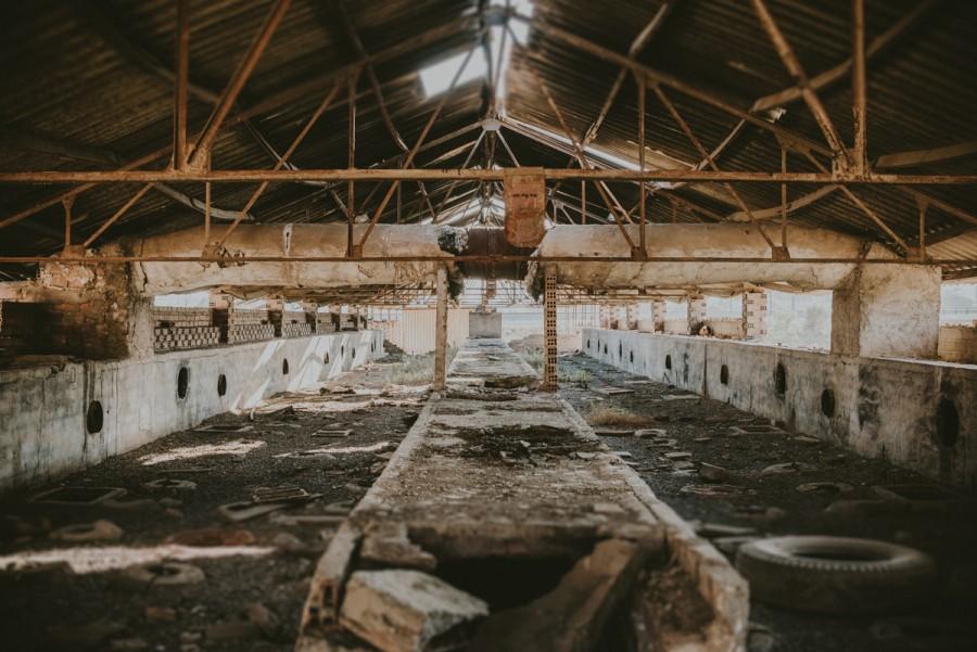 Fabrica abandonada Málaga