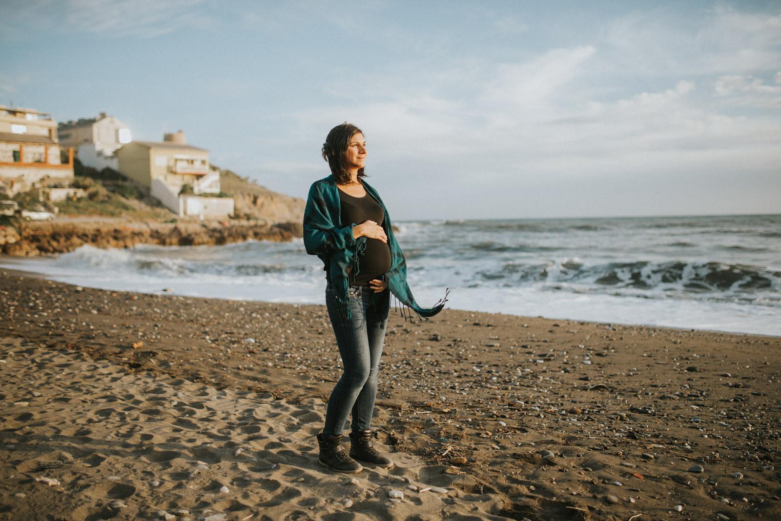 Reportaje embarazada en Málaga | Rocío & Hendrick